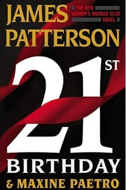 book cover 21st Birthday by James Patterson and Maxine Paetro