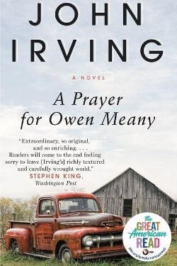 book cover A Prayer for Owen Meany by John Irving
