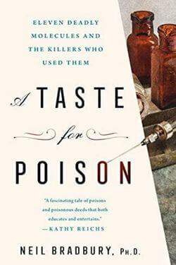 book cover A Taste for Poison by Neil Bradbury