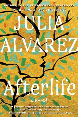 book cover Afterlife by Julia Alvarez