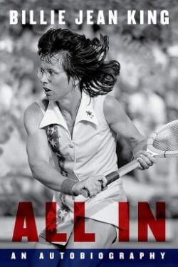 book cover All In by Billie Jean King