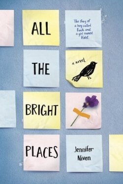 book cover All the Bright Places by Jennifer Niven