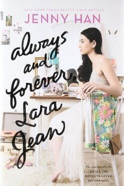 book cover Always and Forever, Lara Jean by Jenny Han