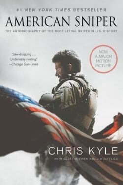 book cover American Sniper by Chris Kyle