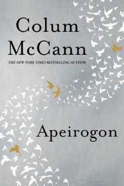 book cover Apeirogon by Colum McCann
