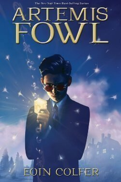 book cover Artemis Fowl by Eoin Colfer