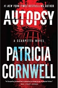 book cover Autopsy by Patricia Cornwell