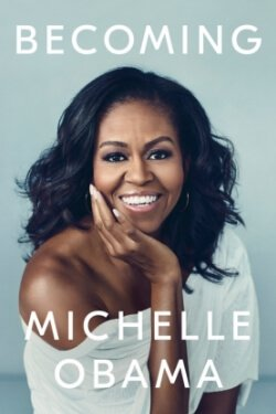 book cover Becoming by Michelle Obama