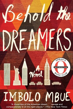 book cover Behold the Dreamers by Imbolo Mbue