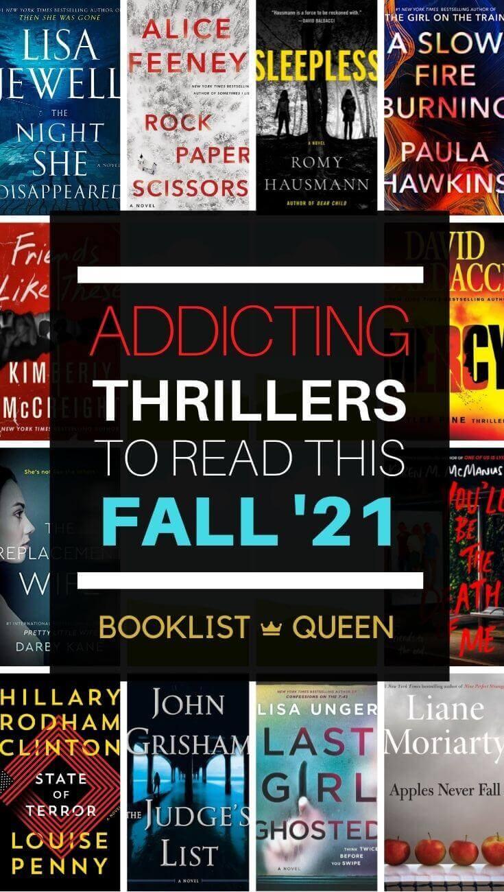 Best New Thriller Books Fall 2021
