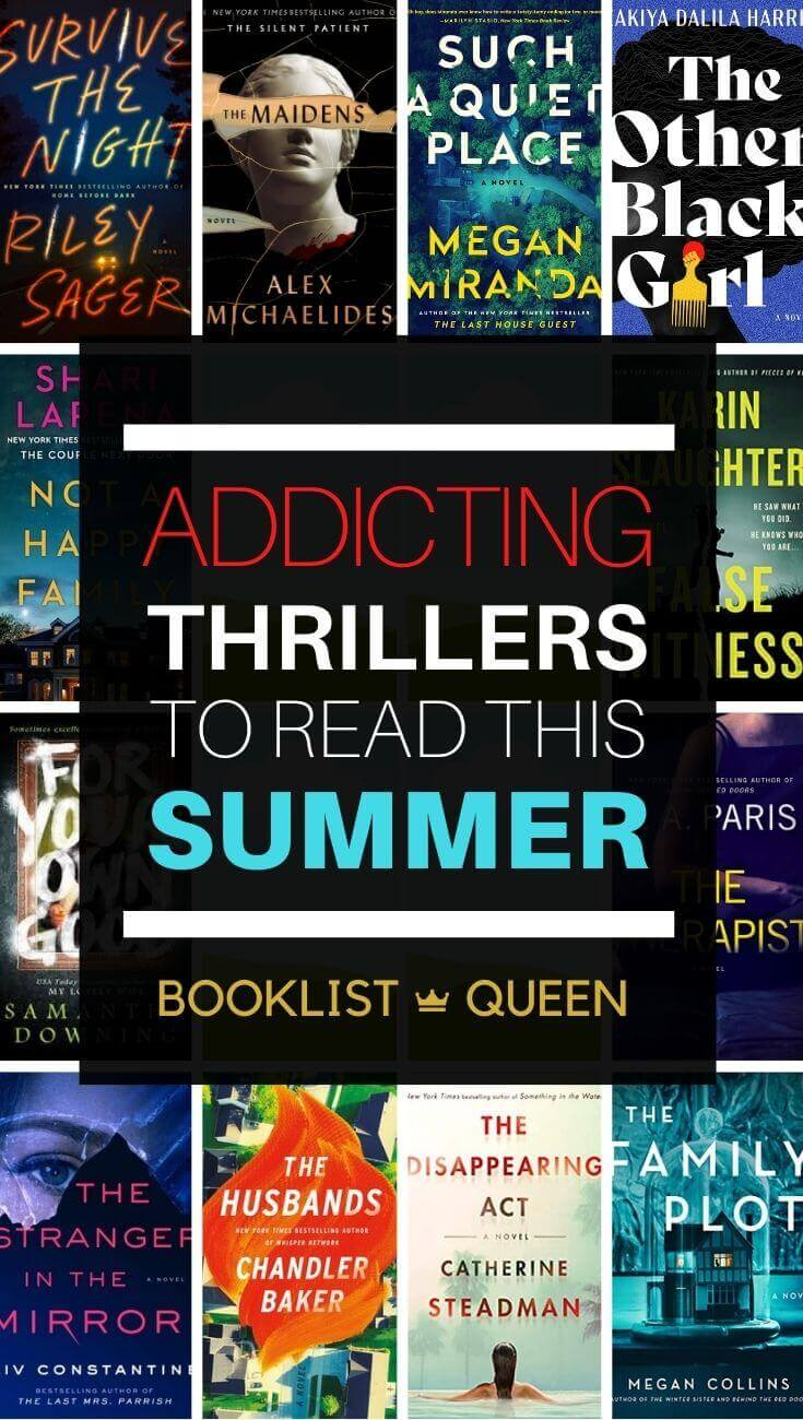 Addicting Best New Thrillers to Read This Summer