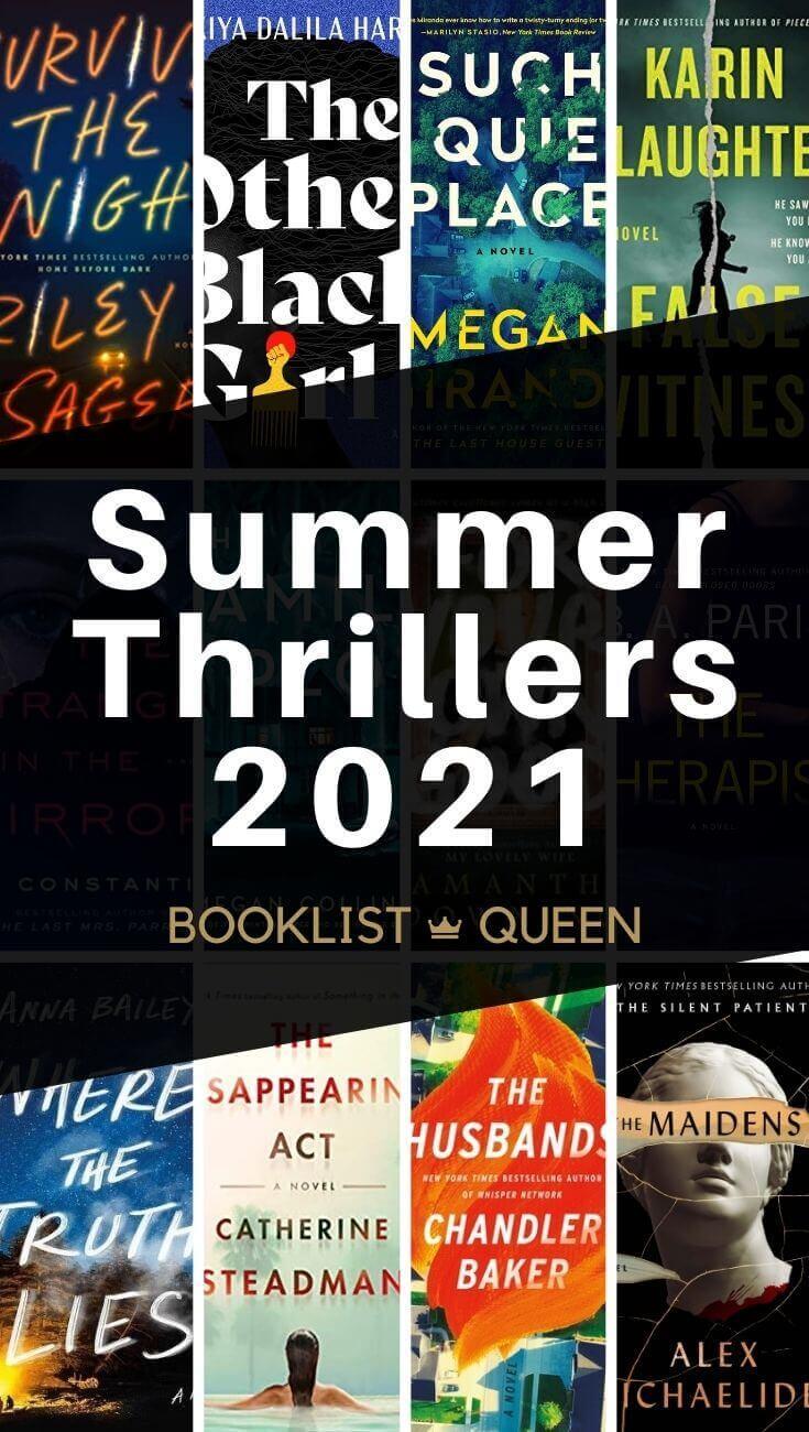 Best New Thrillers Summer 2021