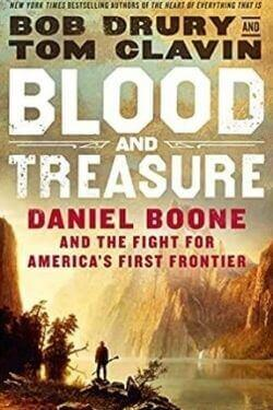 book cover Blood and Treasure by Bob Drury and Tom Clavin