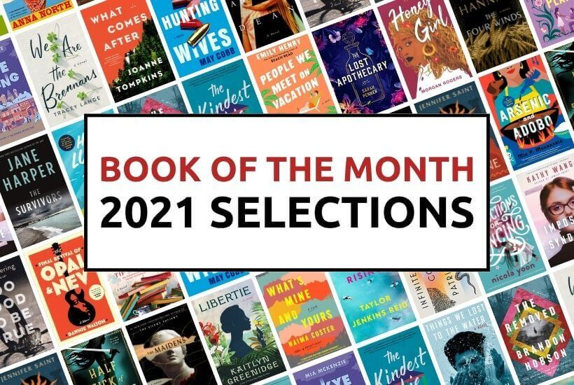 Book of the Month 2021 Selections
