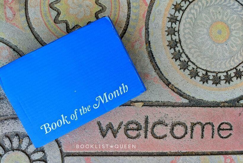 box for book of the month August 2020 selections