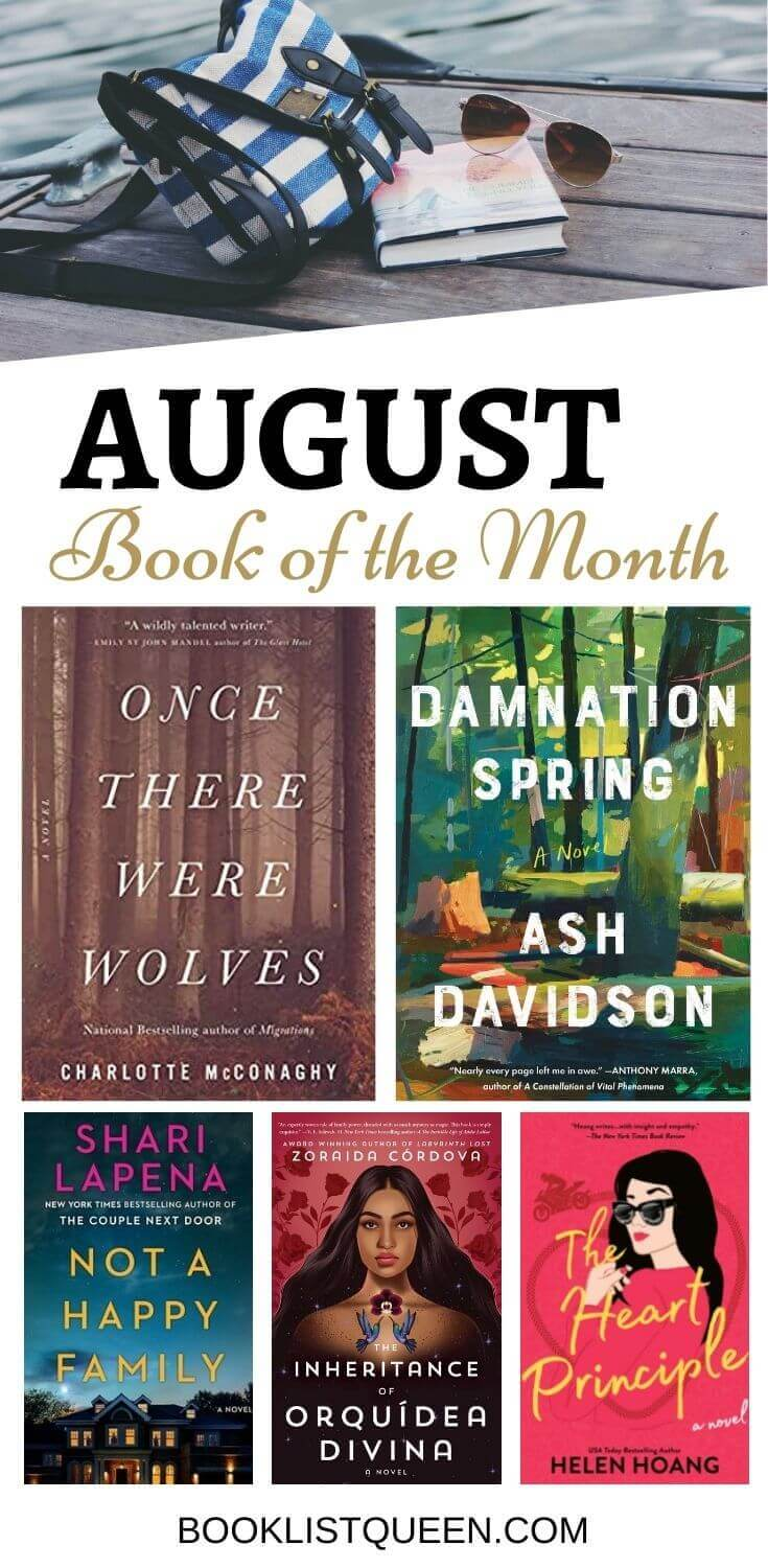 Book of the Month August 2021 Selections