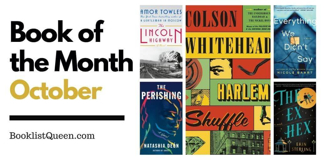 Book of the Month October 2021 Selections