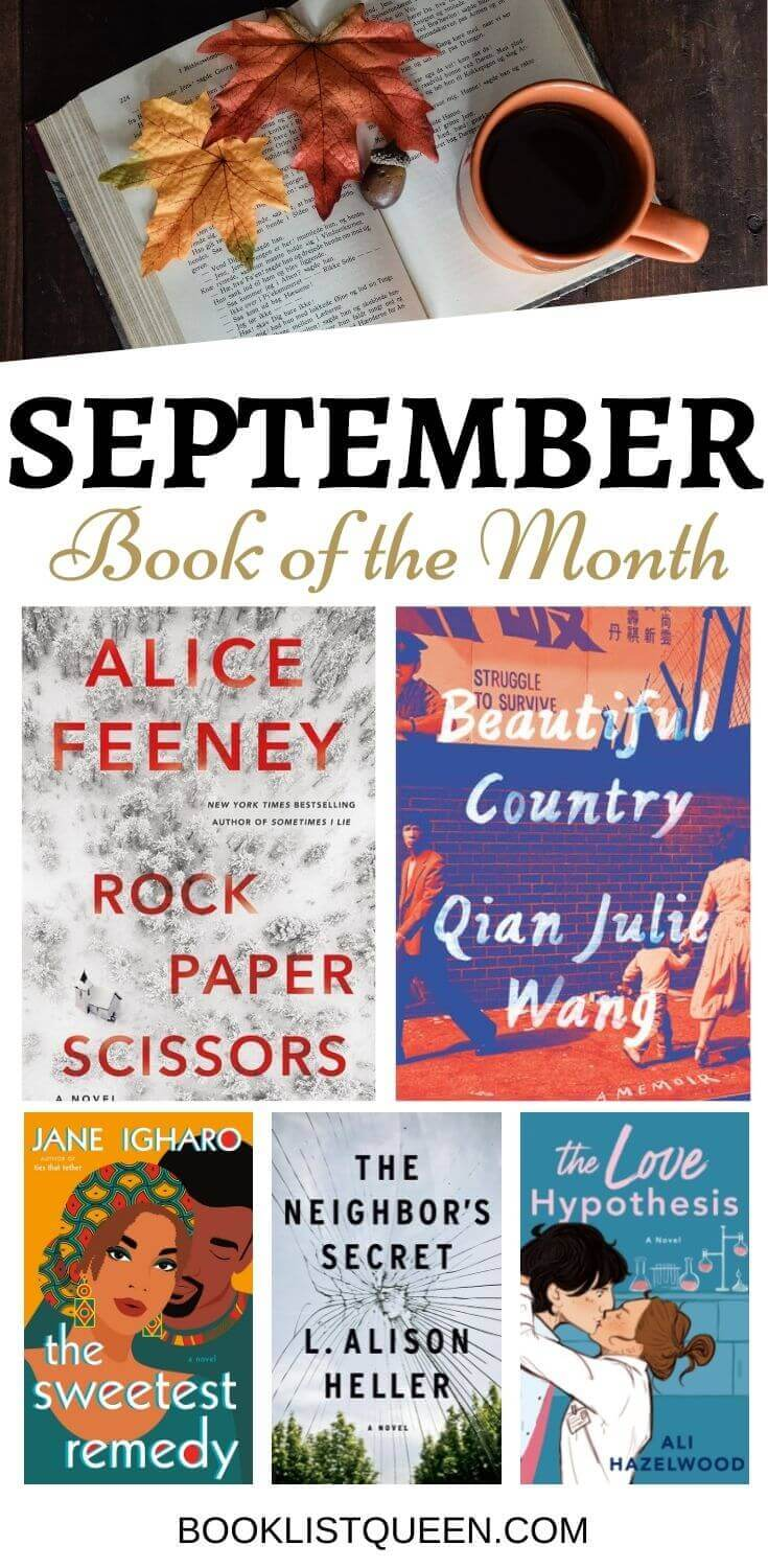 Book of the Month September 2021 Selections
