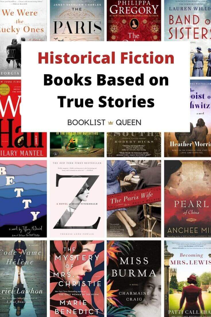 Historical Fiction Books Based on True Stories