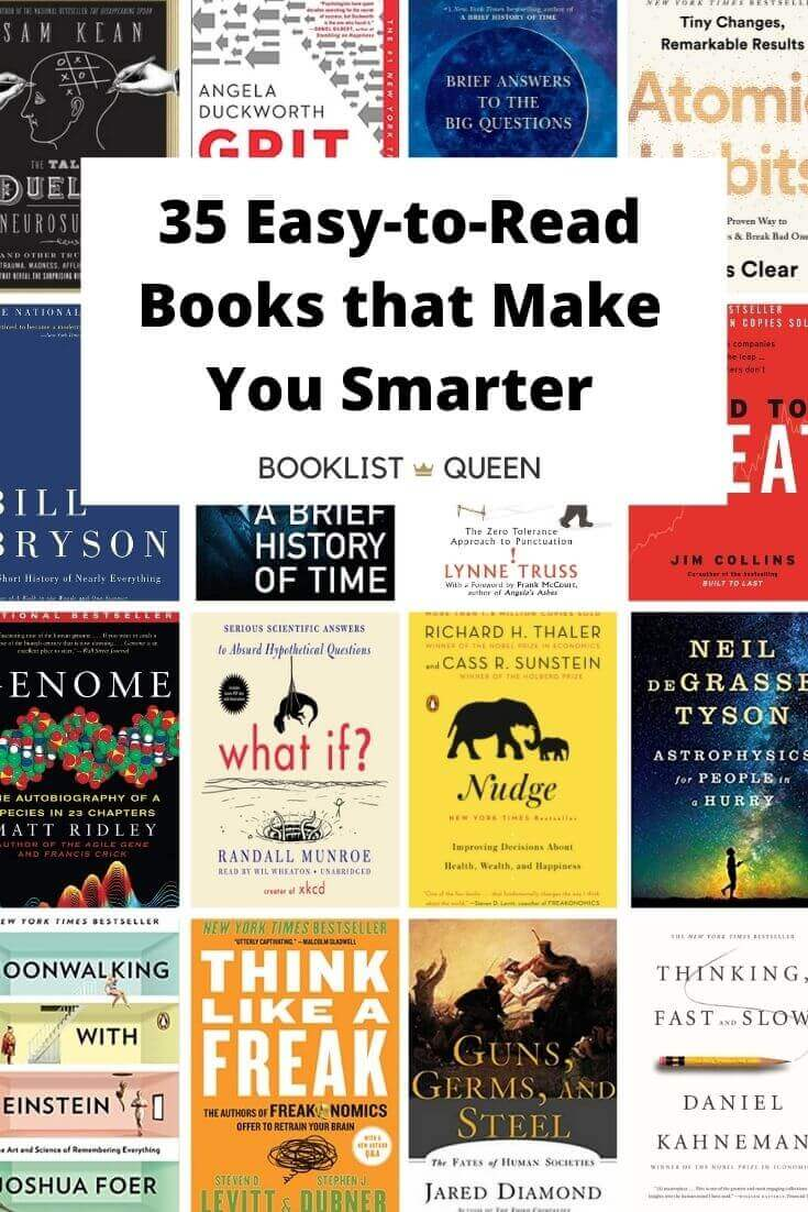 35 Easy to Read Books That Make You Smarter