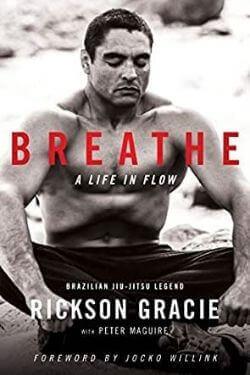 book cover Breathe by Rickson Gracie