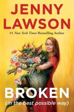 book cover Broken by Jenny Lawson
