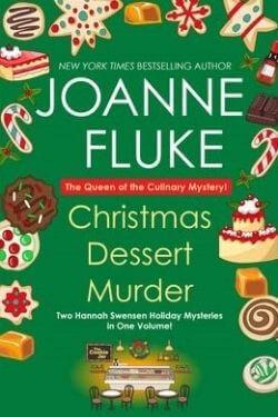 book cover Christmas Dessert Murder by Joanne Fluke