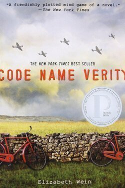 book cover Code Name Verity by Elizabeth Wein