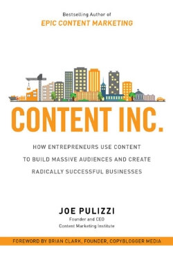 book cover Content Inc. by Joe Pulizzi