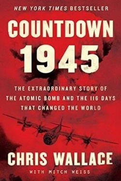 book cover Countdown 1945 by Chris Wallace
