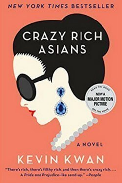 book cover Crazy Rich Asians by Kevin Kwan