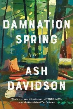 book cover Damnation Spring by Ash Davidson