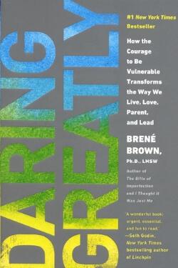 book cover Daring Greatly by Brene Brown