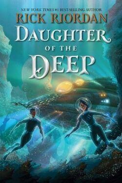 book cover Daughter of the Deep by Rick Riordan