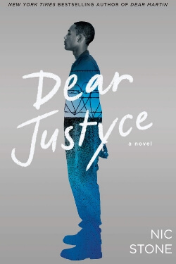 book cover Dear Justyce by Nic Stone