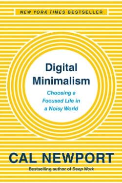 book cover Digital Minimalism by Cal Newport