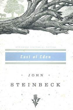 book cover East of Eden by John Steinbeck