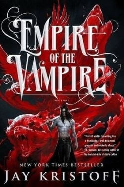 book cover Empire of the Vampire by Jay Kristoff