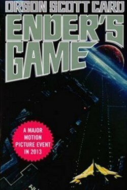 book cover Ender's Game by Orson Scott Card