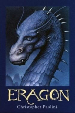 book cover Eragon by Christopher Paolini (The Inheritance Cycle)