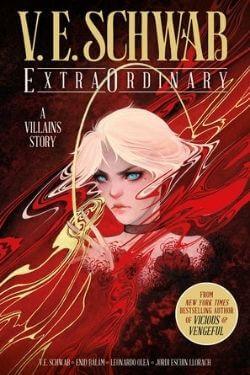 book cover ExtraOrdinary by V. E. Schwab