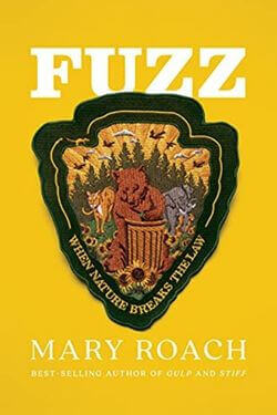 book cover Fuzz by Mary Roach