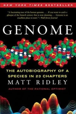 book cover Genome by Matt Ridley