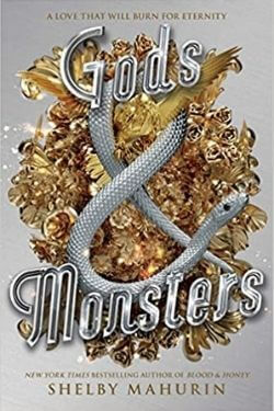 book covers Gods & Monsters by Shelby Mahurin