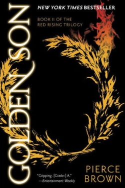 book cover Golden Son by Pierce Brown