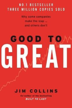 book cover Good to Great by Jim Collins