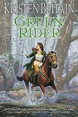 book cover Green Rider by Kristen Britain