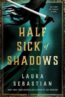 book cover Half Sick of Shadows by Laura Sebastian