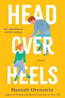 book cover Head Over Heels by Hannah Orenstein