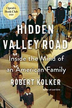 book cover Hidden Valley Road by Robert Kolker